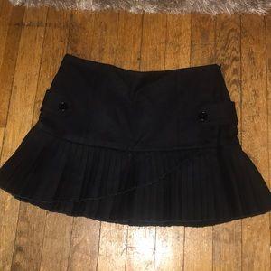 Dresses & Skirts - Black Wool Skirt